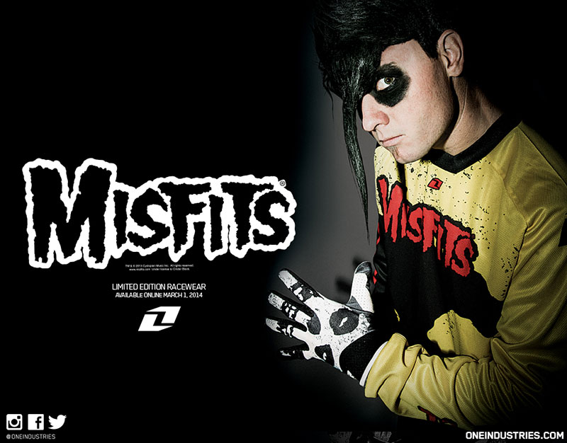 The Misfits Skull Logo The fiendish new collection