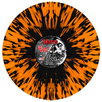 """The Devil's Rain"" Halloween Orange with Black Splatter Tour Variant Vinyl (2012)"