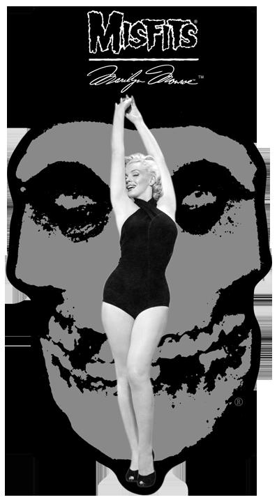 Misfits X Marilyn Monroe Hybrid Moments Exclusive Tees
