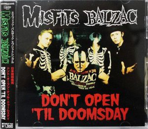 Misfits X Balzac (Japanese Import Edition) Split CD