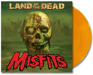 "Translucent Yellow vinyl ""Land of the Dead"" 12-inch (2011)"