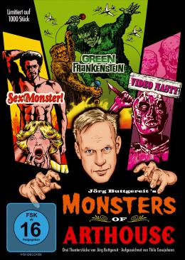 Monsters of Arthouse DVD