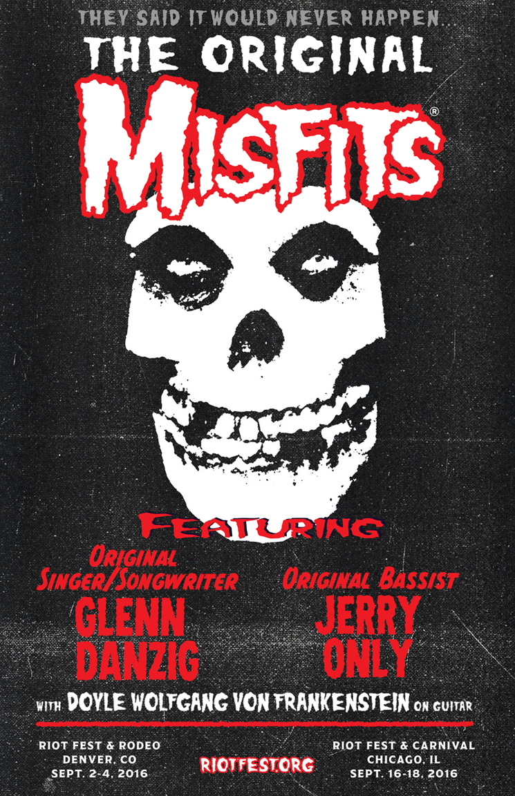 THE ORIGINAL MISFITS REUNITE