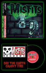 "Misfits ""Project 1950"" Japanese Import CD w/ mini record (2003)"