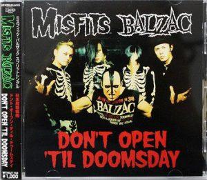 Misfits X Balzac (Japanese Import Edition) Split CD