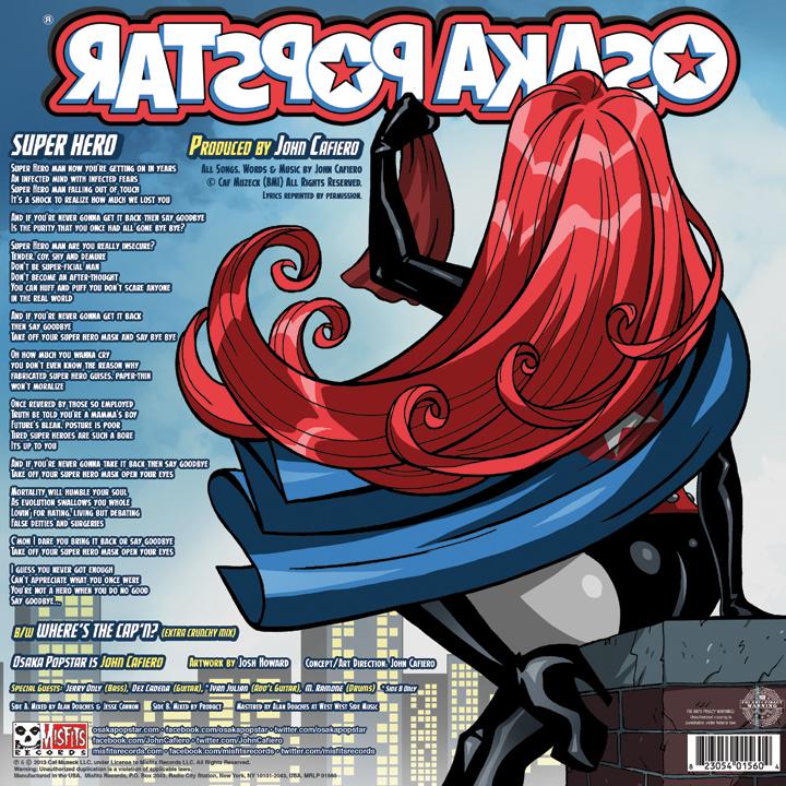 Super Hero Back Cover (2013)